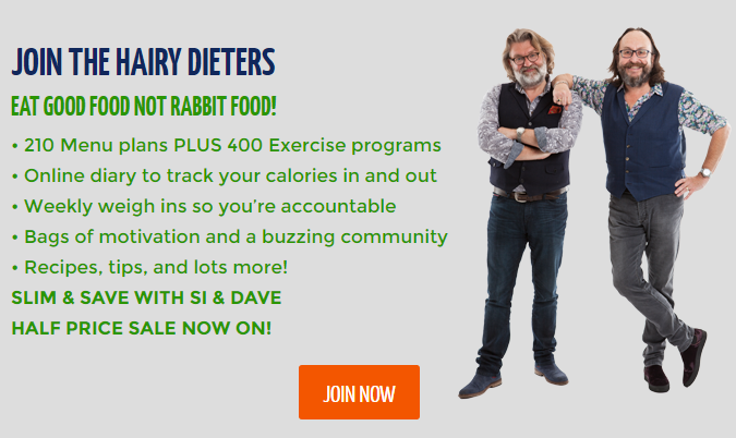 Half Price Discount Hairy Bikers Diet Club